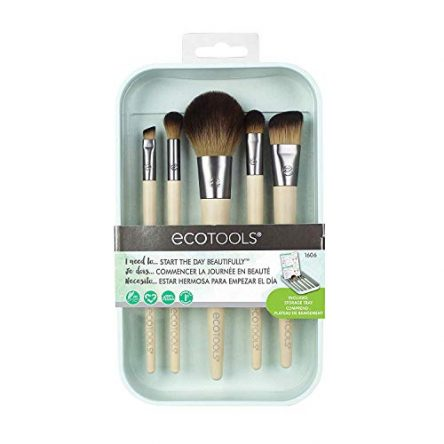 EcoTools Makeup Brush Set for Eyeshadow, Foundation,...