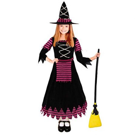 CREPRO Halloween Witch Costumes for Girls, Fairytale...