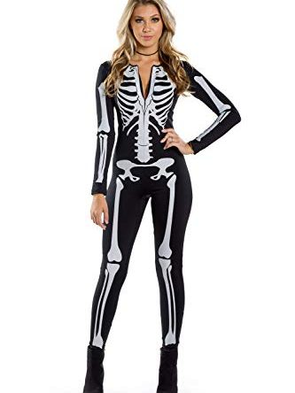 Tipsy Elves Women's Skeleton Halloween Costume...