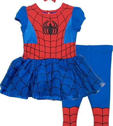 Marvel Baby Girls Costume T-Shirt and Leggings Set